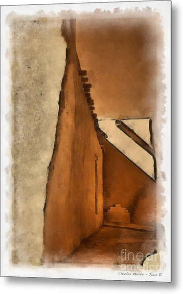Shadows In Aquarell   Metal Print