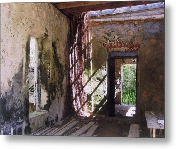 Shadows Of The Past Metal Print