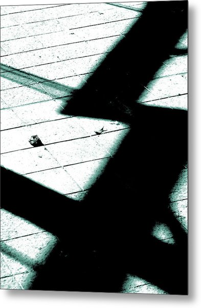 Shadows On The Floor  Metal Print
