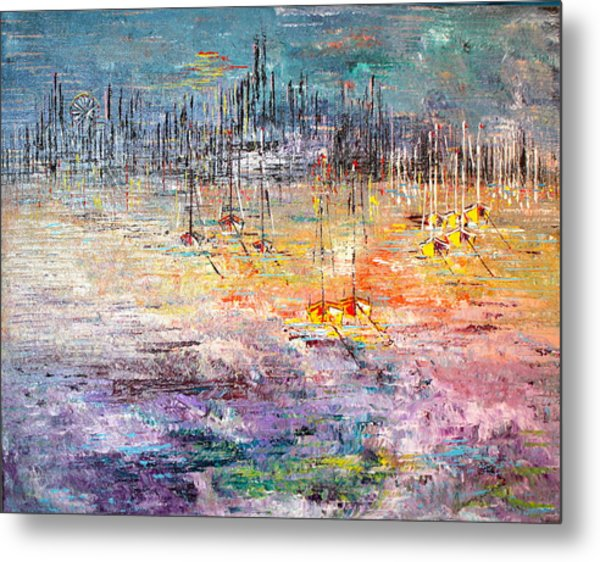 Shallow Water - Sold Metal Print