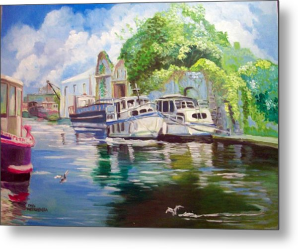 Shannon Harbour Co Offaly Ireland Metal Print