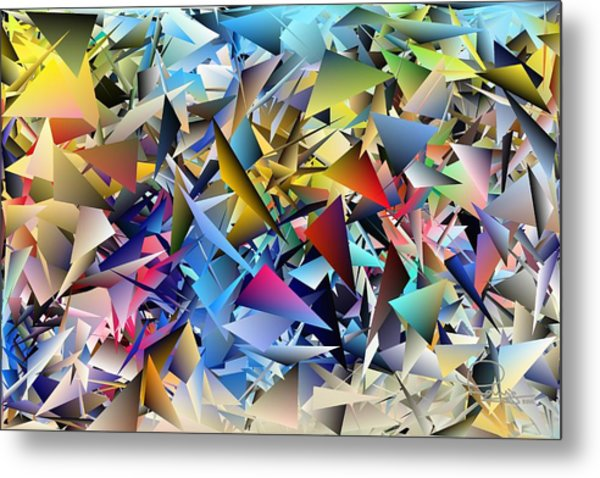 Shards 2 Metal Print