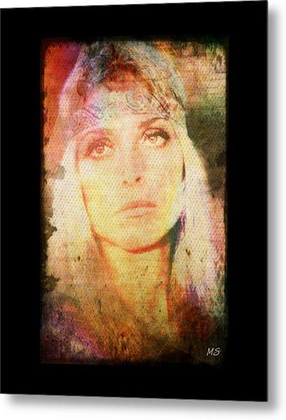 Sharon Tate - Angel Lost Metal Print