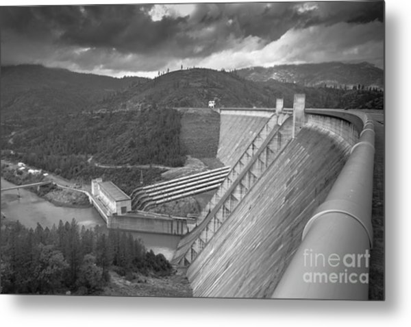 Shasta Lake Dam Metal Print