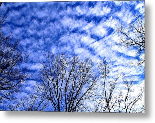 Shattered Skies Metal Print
