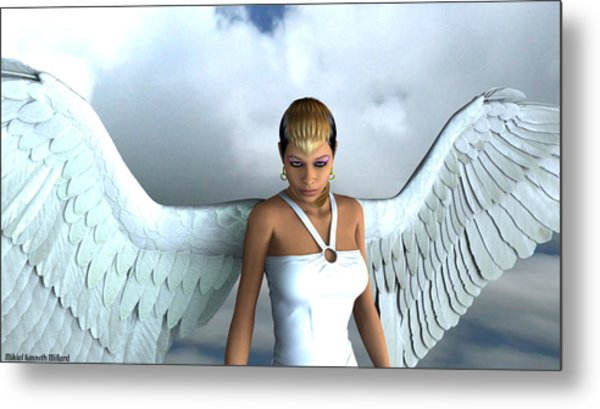 She Of Radiance Metal Print by Aeabia A