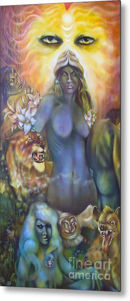 She The Flowering Of Ishtar Metal Print