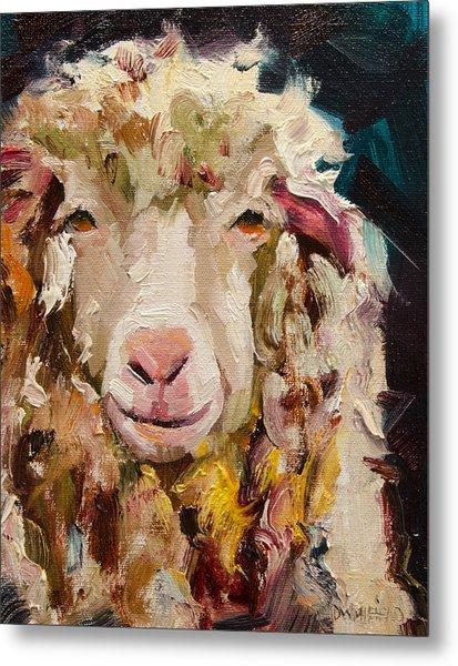 Sheep Alert Metal Print