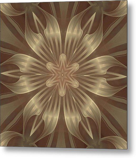 Sheer Linen Metal Print