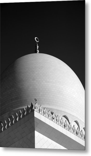 Sheikh Zayed Grand Mosque Metal Print by Myles Cummings