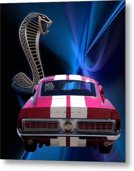 Shelby Cobra Gt-500 Metal Print