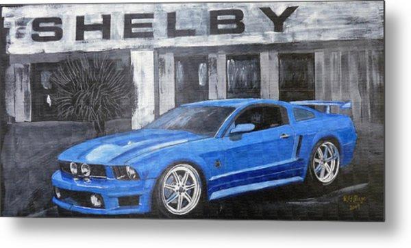 Shelby Mustang Metal Print