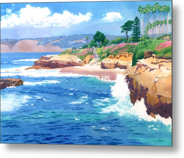 Shell Beach La Jolla Metal Print