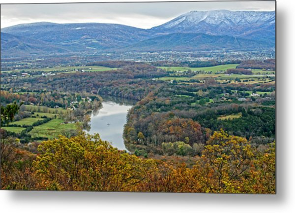 Shenandoah Fall And Winter Metal Print