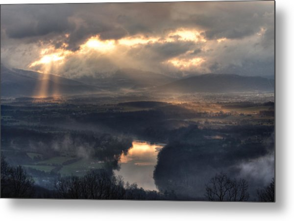 Shenandoah Light Metal Print