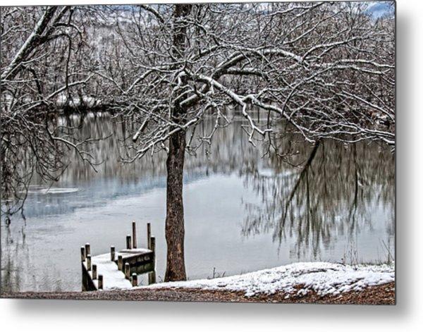 Shenandoah Winter Serenity Metal Print
