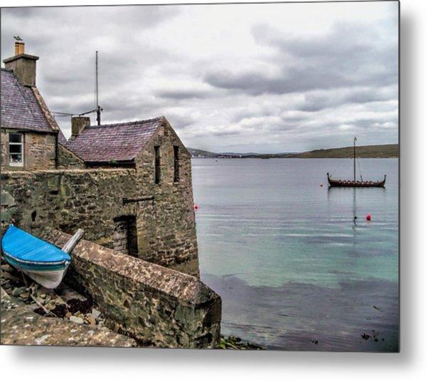 Shetland Lodberry Metal Print