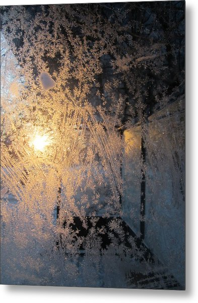 Shines Through And Illuminates The Day Metal Print