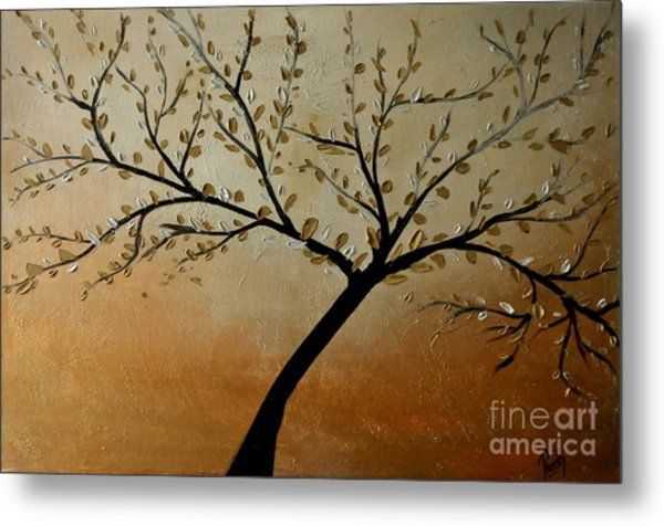 Shining Breeze Metal Print