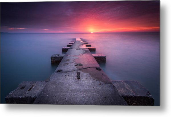 Shining Right Metal Print