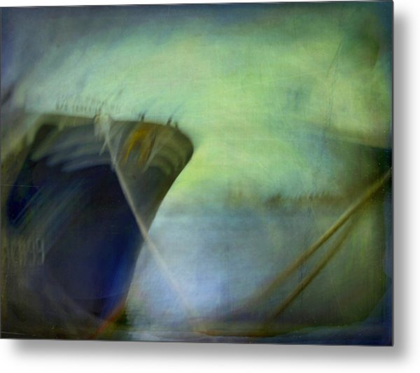 Ship #3 Metal Print by Alfredo Gonzalez