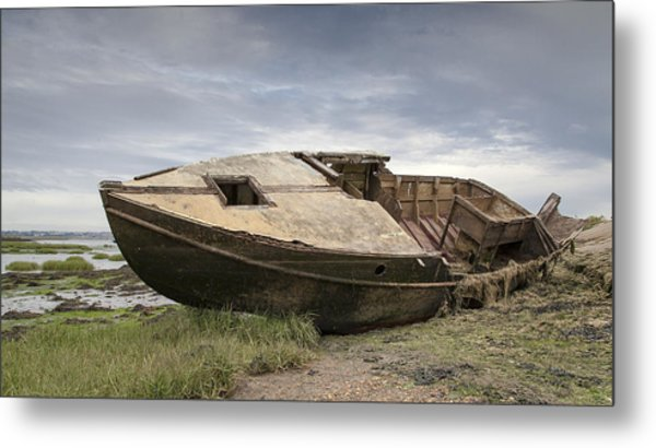 Ship Shape Metal Print by Nigel Jones