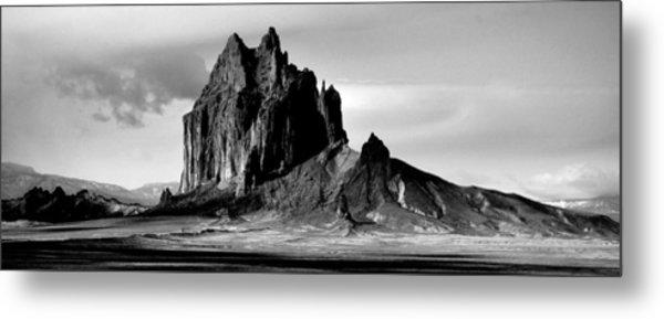Shiprock Panorama Metal Print