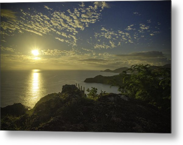 Shirley Heights Sunset Metal Print