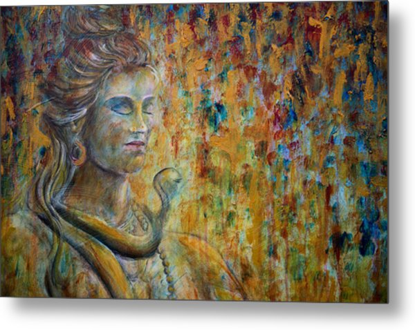 Shiva 2 - Close Metal Print