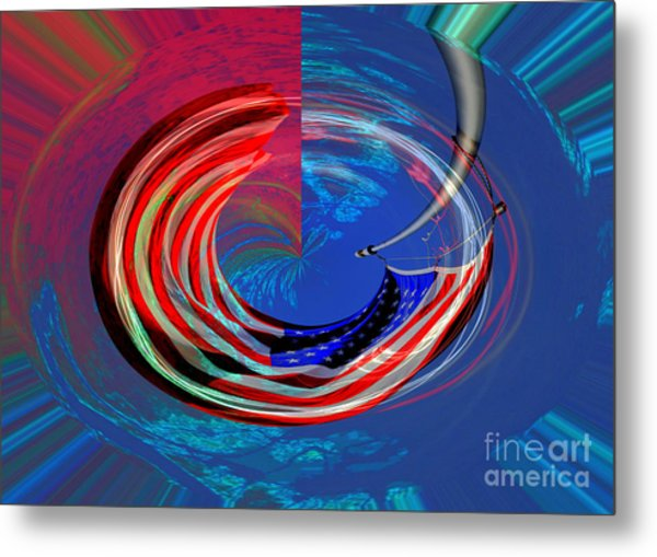 Shock And Awe Metal Print