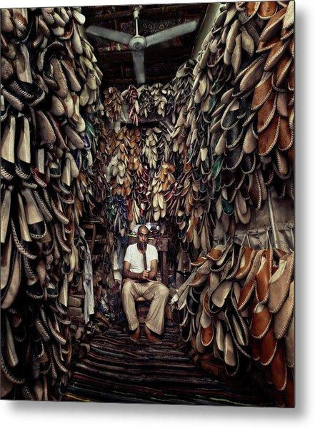 Shoes Maker Metal Print