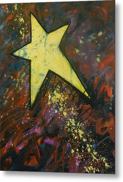 Shooting Star Metal Print