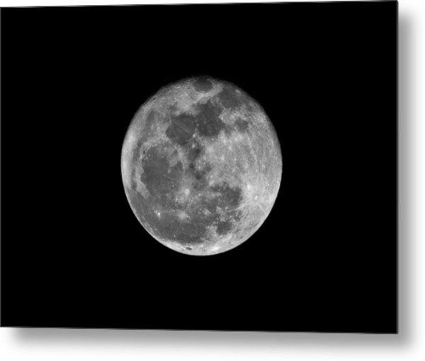 Shooting The Moon Metal Print