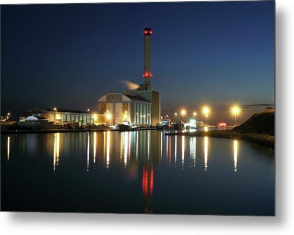 Shoreham Power Station Metal Print by Martin Bond/science Photo Library