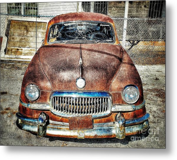 Show Me Your Grill Metal Print