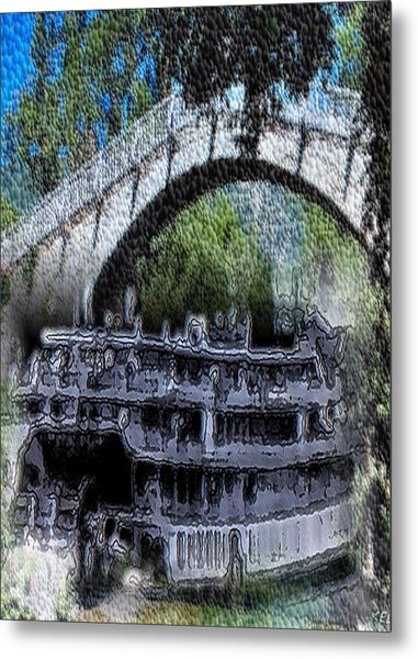 Showboat Metal Print by Kelly McManus