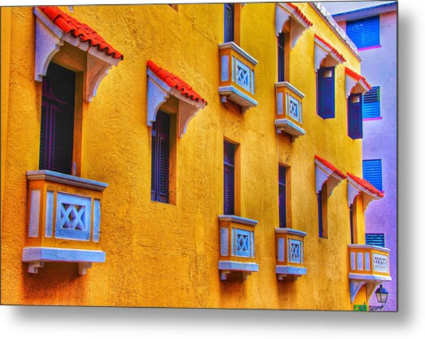 Shutters Metal Print by Kathi Isserman