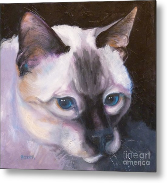 Siamese Royalty Metal Print