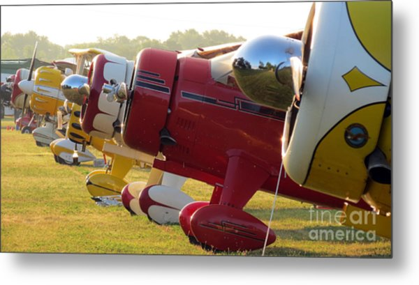 Side By Side. Oshkosh 2012 Metal Print