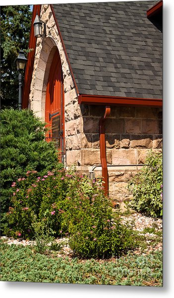 Side Entrance Metal Print