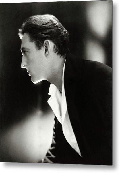 John Barrymore In Profile Metal Print by Adolphe De Meyer