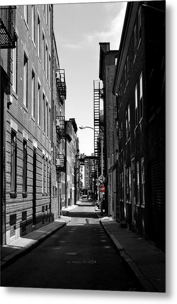 Side Street On The North End Metal Print