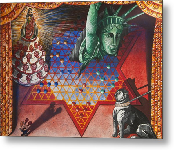 Sideshow Metal Print by Larry Butterworth