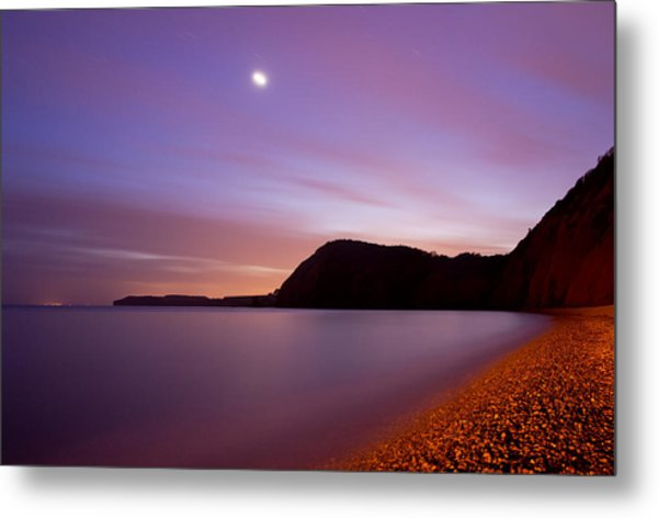 Sidmouth And Venus Metal Print