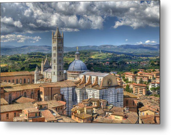 Siena Cathedral Metal Print