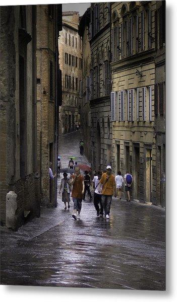 Siena Rain Metal Print