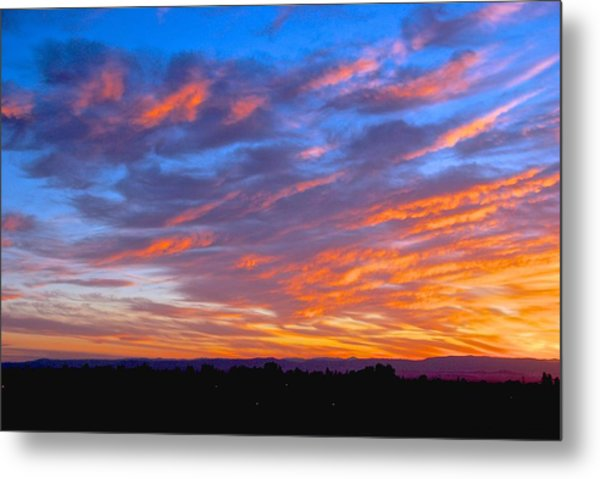 Sierra Nevada Sunrise Metal Print