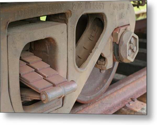 Silenced Metal Print by Denise Beverly