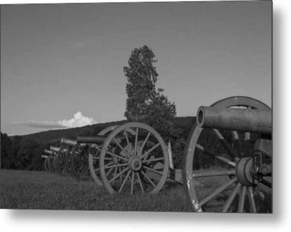 Silent Cannons Metal Print by Michael Williams