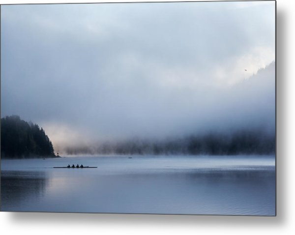 Silent Morning Metal Print by Uschi Hermann